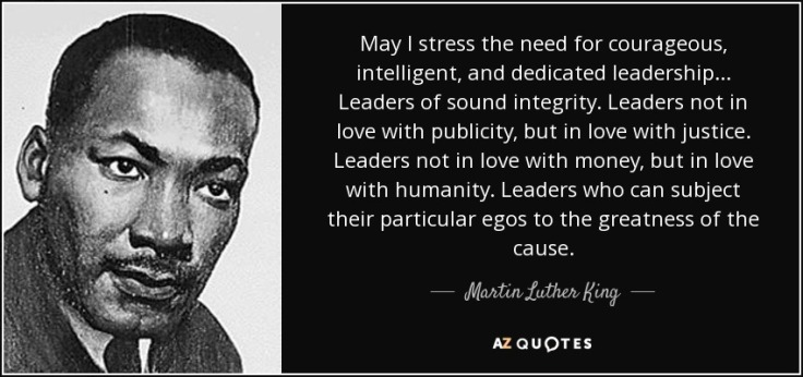 A Hero for Peace and Justice: Martin Luther King Jr  – THE SCOOP